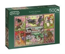 Casse-tête, 500 mcx - Playful Kittens