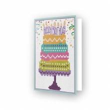 Carte Diamond Dotz - Gâteau