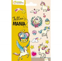 Tattoo Mania - Licorne / Magie