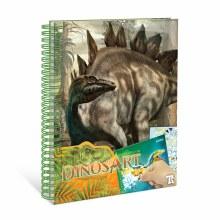 DinosArt - Peinture par autocolants