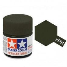 Peinture Tamiya - XF-51 Khaki drab