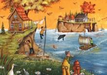 Casse-tête, 500 mcx - L'automne à Gaspé