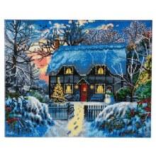 Crystal Art - Yuletide Cottage - Large
