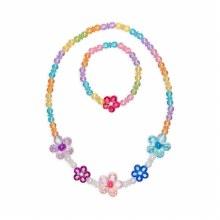 Colier & Bracelet - Fleurs
