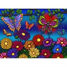 Casse-tête 300mcx - Fleurs et Papillons