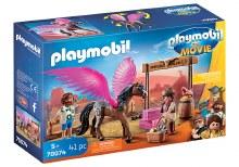Playmobil: The Movie - Marla et Del avec cheval ailé