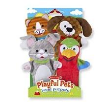 Marionnettes - Animaux domestiques espiègles