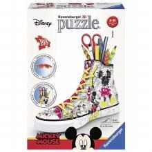 Casse-tête 3D, 108 mcx  - Sneaker Mickey