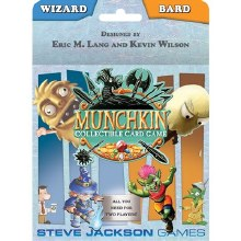 Munchkin collectible card game - Wizard and Bard
