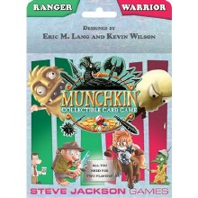 Munchkin collectible card game - Ranger and Warrior