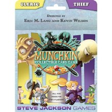 Munchkin collectible card game - Cleric and Thief