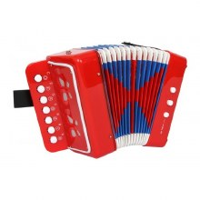 Accordéon rouge