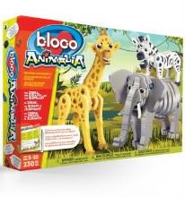 Bloco - Le zèbre, la girafe et l'éléphant