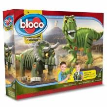 T-Rex et Triceratops