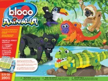 Bloco - Les animaux de la forêt tropicale