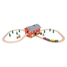 Ensemble de Station Train