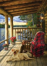 Casse-tête 1000 mcx - Cabin porch