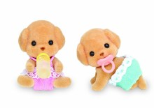 Calico Critters - Jumeaux caniches