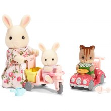 Calico Critters - Apple et Jake se baladent
