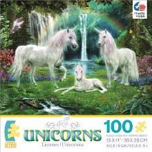 Casse-tête, 100 mcx - Licornes