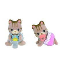 Calico Critters - Jumeaux Chats Sandy