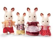 Calico Critters - Famille de lapins Hopscotch