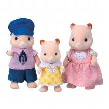 Calico Critters - famille de hamsters