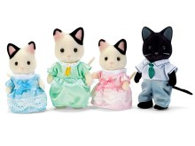 Calico Critters - Famille de chats Tuxedos