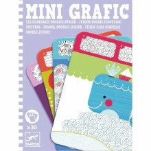 Mini Grafic - Les coloriages doodles junior