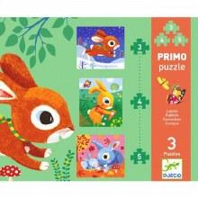 Primo Puzzle - Lapins