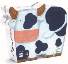 Casse-tête, 24 mcx - Les vaches à la ferme