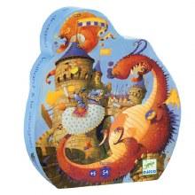 Casse-tête, 54 mcx - Vaillant & le dragon