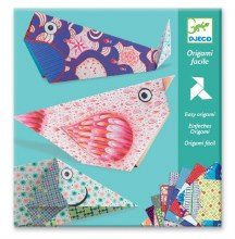 Origami facile - Les grands animaux