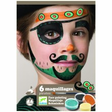 6 maquillages - Pirate