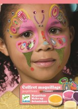6 maquillages - papillons