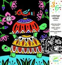 Coloriage Velours - Bestioles