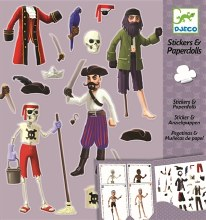 Collants et poupées de papier