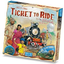 Les Aventuriers du Rail - India (extension Multi.)
