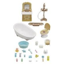 Calico Critters - Salle de bain CAmpagnarde