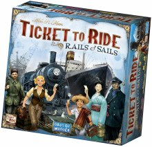 Ticket to Ride - Rails & Sails (Ang.)