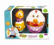 Chicken n egg stackers