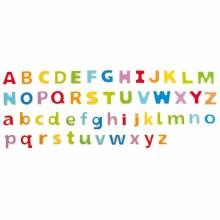Alphabet magnétique en bois