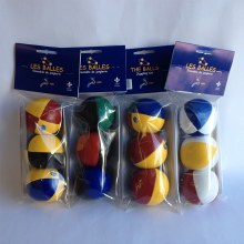 Ensemble de 3 balles de jonglerie 130gr