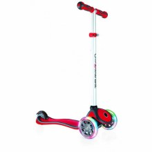 Globber Primo Plus lights - Rouge