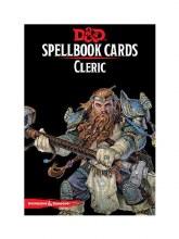 D&D Spellbook cards - Cleric
