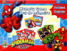 Jeu de mémoire - Spiderman & Friends