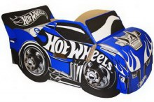 Voiture décapotable Hot Wheels Bleue