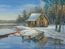 Casse-tête, 275 mcx - Winter Cabin