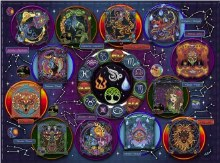 Casse-tête 1000mcx - Zodiaque