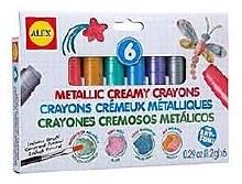 Crayons Crémeux Métals